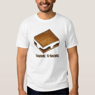 GIMME S'MORE Chocolate Marshmallow Camp S'mores T T-Shirt