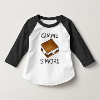 Gimme Smore Chocolate S'mores Camping Tee
