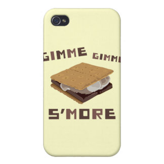 Gimme S'more iPhone 4 Funda