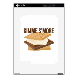 Gimme Smore iPad 2 Skin