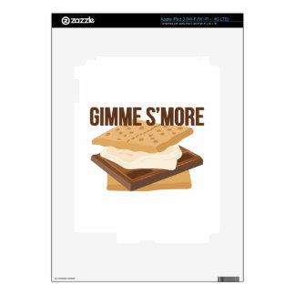 Gimme Smore iPad 3 Pegatinas Skins