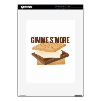 Gimme Smore iPad Calcomanías