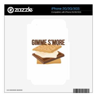Gimme Smore iPhone 3G Skins