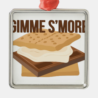 Gimme Smore Metal Ornament