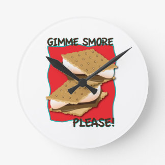 Gimme Smore Please! Clock