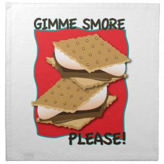Gimme Smore Please! Napkins