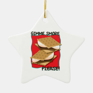 Gimme Smore Please! Christmas Ornament