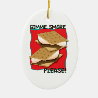 Gimme Smore Please! Ornament