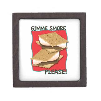 Gimme Smore Please! Premium Trinket Box