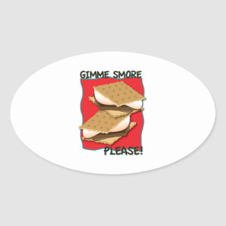 Gimme Smore Please! Stickers