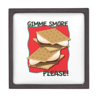 ¡Gimme Smore por favor Caja De Joyas De Calidad