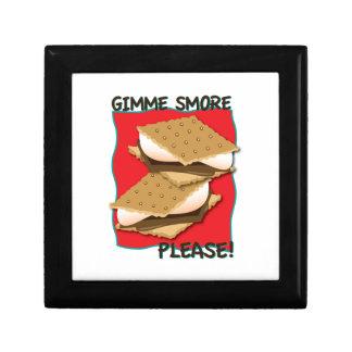 ¡Gimme Smore por favor Caja De Regalo