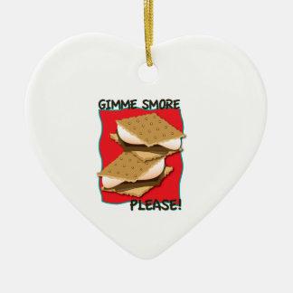 ¡Gimme Smore por favor Ornato