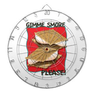 ¡Gimme Smore por favor Tablero De Dardos