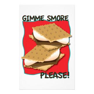 ¡Gimme Smore por favor Papelería Personalizada