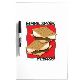 ¡Gimme Smore por favor Pizarras Blancas