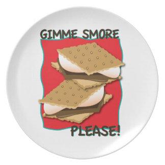 ¡Gimme Smore por favor Platos