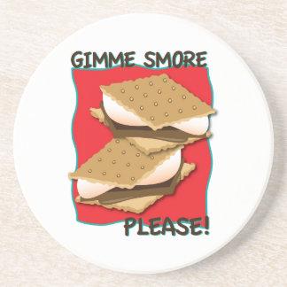 ¡Gimme Smore por favor Posavasos Diseño