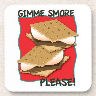 ¡Gimme Smore por favor Posavasos
