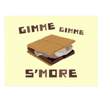 Gimme S'more Postcard