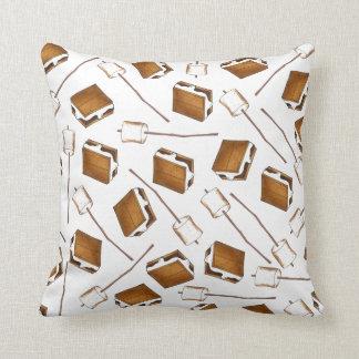 Gimme S'more tostó la almohada de Smores de la Cojín Decorativo