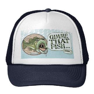 Gimme That Fish, Ahhh Gift Ideas Trucker Hat