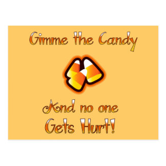 Gimme the Candy Postcard