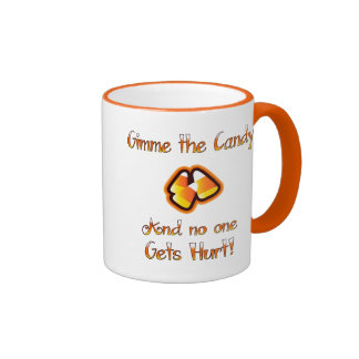 Gimme the Candy Ringer Mug