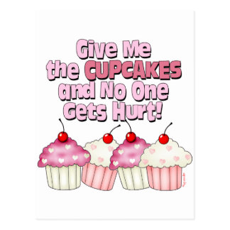 Gimme the Cupcakes Postcard