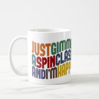 Gimme una clase de la vuelta taza de café