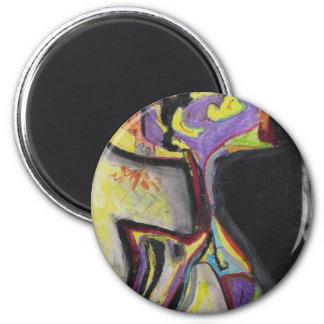 Gimmel 2 Inch Round Magnet