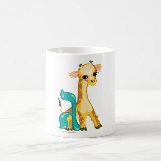 Gimmel Hebrew Aleph Bet (Alphabet) Giraffe Mug