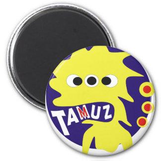 Gimmel Tammuz 2 Inch Round Magnet