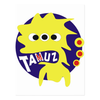 Gimmel Tammuz Postcard
