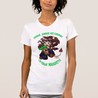 """""""Gimmie, camisa de DEMONA del helado de Gimmie"""""""