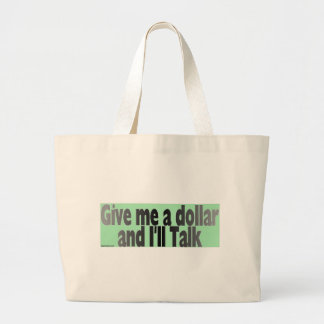 gimmie_dollar large tote bag