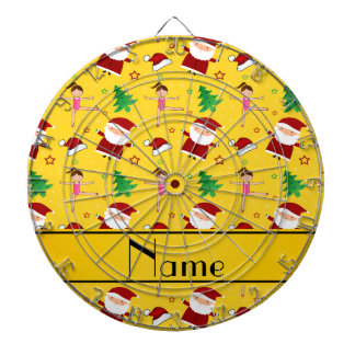 Gimnasia amarilla conocida de encargo santas del tabla dardos