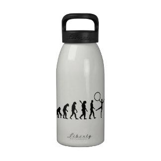 Gimnasia de la evolución botella de agua reutilizable