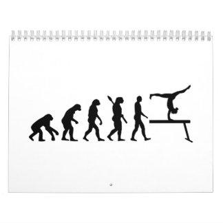 Gimnasia de la evolución calendario