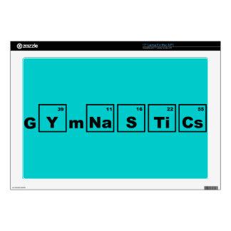 Gimnasia de la tabla periódica calcomanías para 43,2cm portátiles