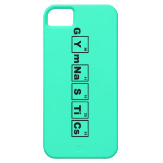 Gimnasia de la tabla periódica iPhone 5 cárcasas