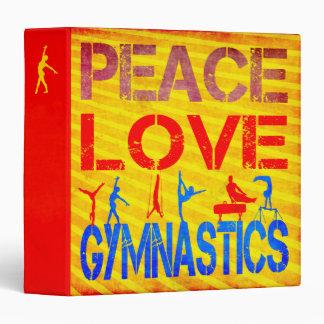 """Gimnasia del amor de la paz carpeta 1 1/2"""""""