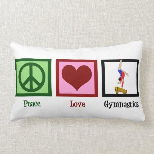 Gimnasia del amor de la paz almohada