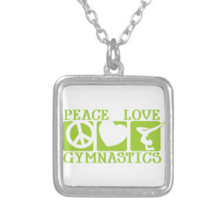 Gimnasia del amor de la paz colgante cuadrado