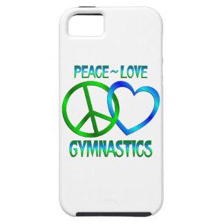 GIMNASIA del amor de la paz iPhone 5 Case-Mate Fundas