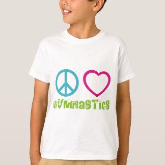 Gimnasia del amor de la paz poleras