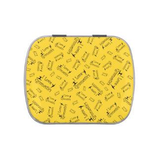 Gimnasia del amor del amarillo I Latas De Caramelos