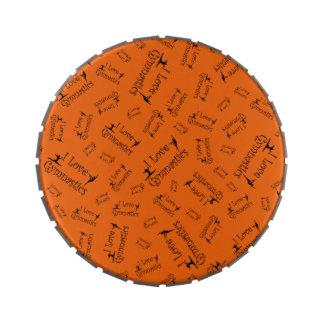 Gimnasia del amor del naranja I Latas De Caramelos