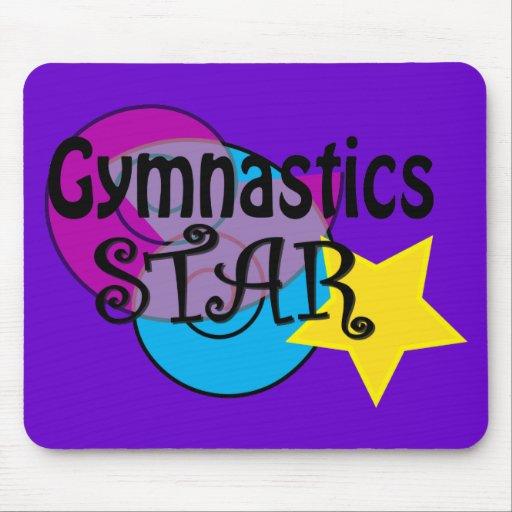 Gimnasia Mousepads para los gimnastas