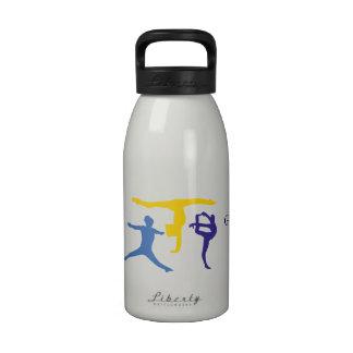 Gimnasia personalizada modelo del trío del persona botellas de beber